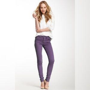 Joe's Jeans Skinny Leg Purple Jeans
